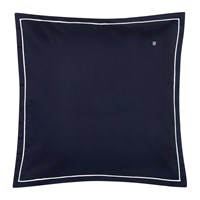Tommy Hilfiger 100 Cotton Sateen Pillowcase Navy 65X65cm