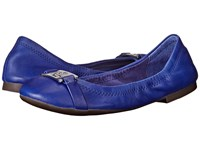 Lauren Ralph Lauren Betty Royal Soft Burnished Calf Women's Flat Shoes Blue