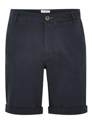 Selected Homme Navy Chino Shorts