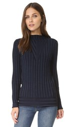 J Brand Page Sweater Navy