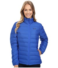 Mountain Hardwear Stretchdown Jacket Bright Island Blue Women's Coat