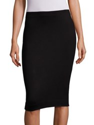 L'agence Khamilla Pencil Skirt Black