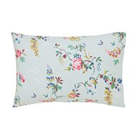 Cath Kidston Birds And Roses Pillowcase Duck Egg