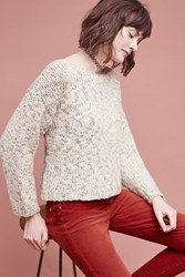 Anthropologie Dolman Knit Pullover Black White
