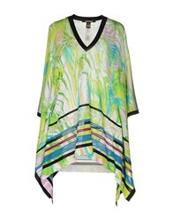 Class Roberto Cavalli Capes And Ponchos Light Green