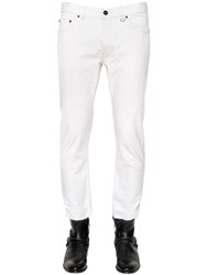 John Varvatos 17Cm Slim Fit Linen And Cotton Denim Jeans