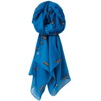Joules Wensley Fox Scarf Topaz