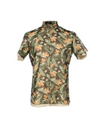 Kolor Shirts Military Green