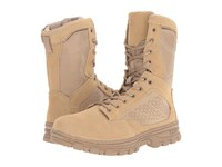 5.11 Tactical Evo Desert 8 Coyote Men's Work Boots Silver
