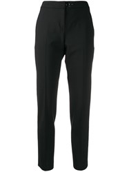 Fay Slim Fit Tailored Trousers Black