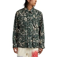 Ovadia And Sons Liquid Camouflage Ripstop Field Jacket Green