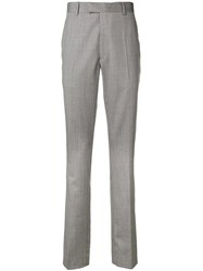 Calvin Klein 205W39nyc Stripe Detail Tailored Trousers Grey