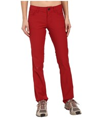Black Diamond Creek Pants Maroon Women's Casual Pants Red