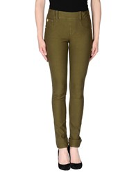 Marani Jeans Trousers Casual Trousers Women Military Green
