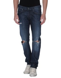 Mgnerd Denim Pants Blue