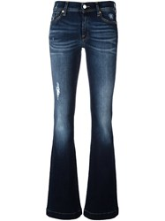 7 For All Mankind 'Charlize' Bootcut Jeans Blue
