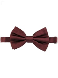 Dolce And Gabbana Classic Bow Tie Pink And Purple