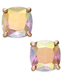 Kate Spade New York Gold Tone Iridescent Crystal Stud Earrings Pinkab