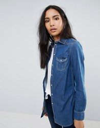 Pepe Jeans Rhonda Denim Shirt Blue