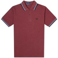 Fred Perry Original Twin Tipped Polo Red