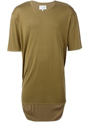 Maison Martin Margiela Loose Fit T Shirt Green