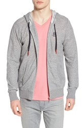 Psycho Bunny Double Face Hoodie Heather Grey