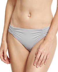L Space Monique Ruched Side Swim Bottom Black