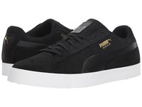 Puma Golf Suede G Black Black Shoes