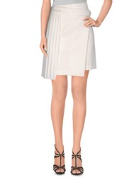 Edun Mini Skirts White