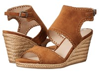 Via Spiga Izett Beech Suede Women's Wedge Shoes Olive