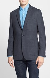 Men's Vince Camuto 'Dell Aria Air' Trim Fit Jacket Charcoal Houndstooth