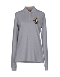 Bronzaji Polo Shirts Light Grey