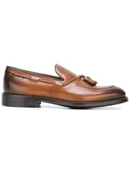 Doucal's Tassel Loafers Brown