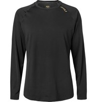 2Xu Ghst Stretch Jersey T Shirt Black