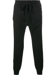 Haider Ackermann Cuffed Pants Black