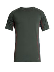 Every Second Counts Race Day Seamless T Shirt Green Multi