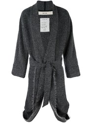 Damir Doma 'Ciro' Wrap Coat Grey