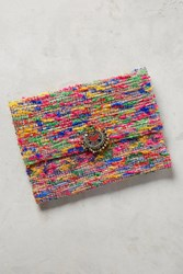 Anthropologie Static Pouch Pink