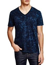 Splendid Mineral Wash V Neck Tee Navy