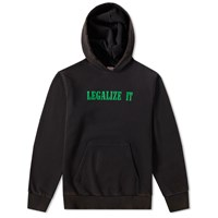 Palm Angels Legalize It Hoody Black