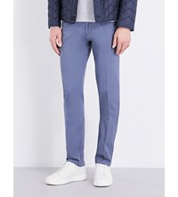 Hugo Boss Slim Fit Tapered Chinos Open Blue