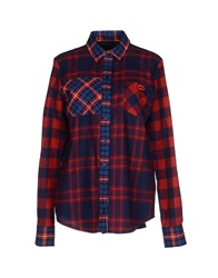 American Retro Shirts Dark Blue