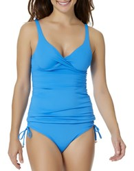 Anne Cole Bandeau Underwire Tankini Top