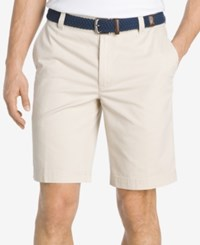 Izod Men's Saltwater Shorts Stone
