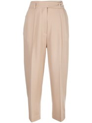 Petar Petrov High Waist Cropped Trousers 60
