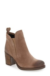Bos. And Co. Women's 'Belfield' Waterproof Chelsea Boot Taupe Oil Suede