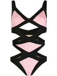 Agent Provocateur Woman Mazzy Swimsuit Pink