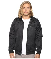 Members Only Modern Iconic Racer Jacket Black Men's Coat