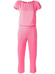 P.A.R.O.S.H. Lounge Jumpsuit Pink Purple