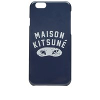 Maison Kitsune Fox Eyes Iphone Case Blue